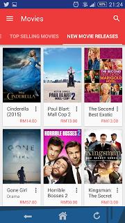 pilihan movie google play