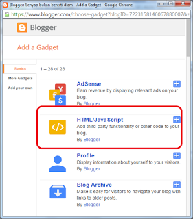 htm/javascript widget