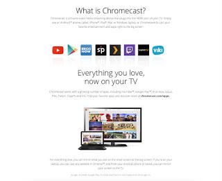 promosi chromecast