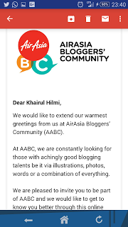Air Asia bloggers community