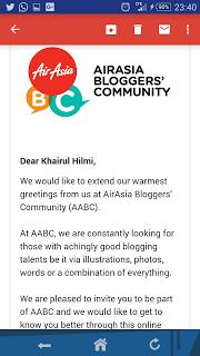 Air Asia bloggers community