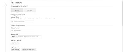 google analytics form