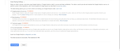 google analytics form 2