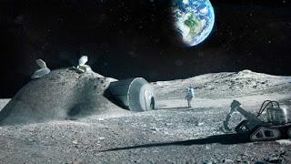 lari ke bulan