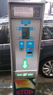 sydney parking machine