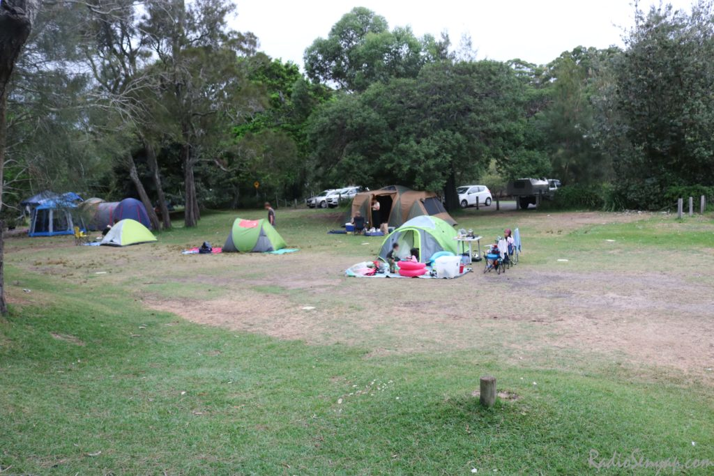 camping at bonnie vale
