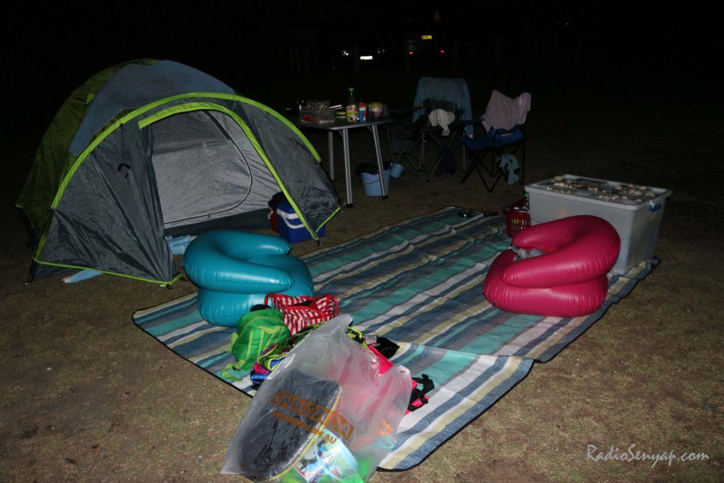 camping di sydney